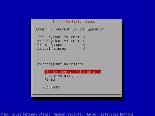 écran 7 debian de choix de partitionnement à l'installation